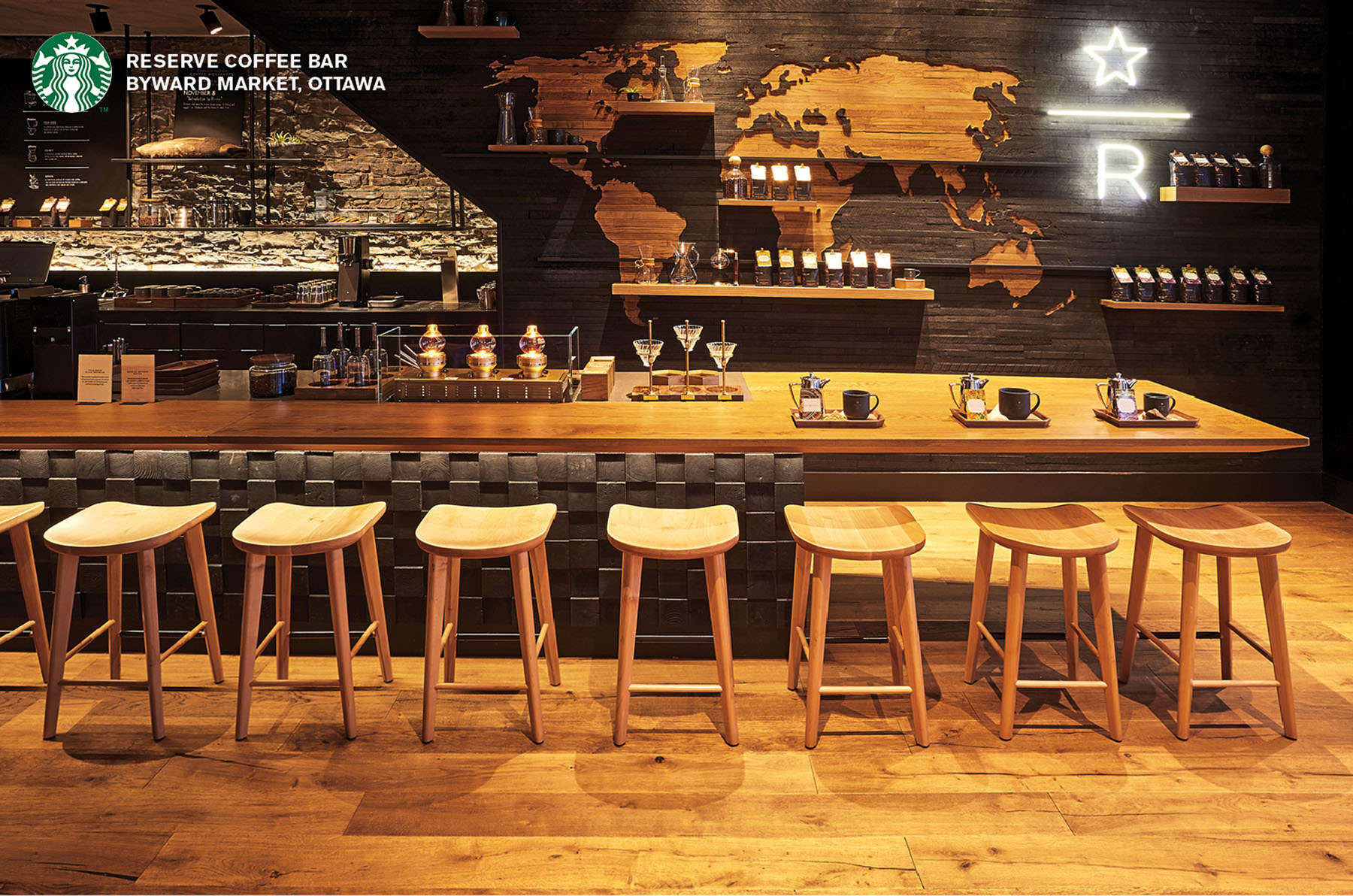 Starbucks Global  contracted matthew Liteplo to photograph their new Ottawa reserve location in the Byward Market when it opened as part of a Tandem video/stills production. The shot list includes lifestyle, food, and interior architecture images.