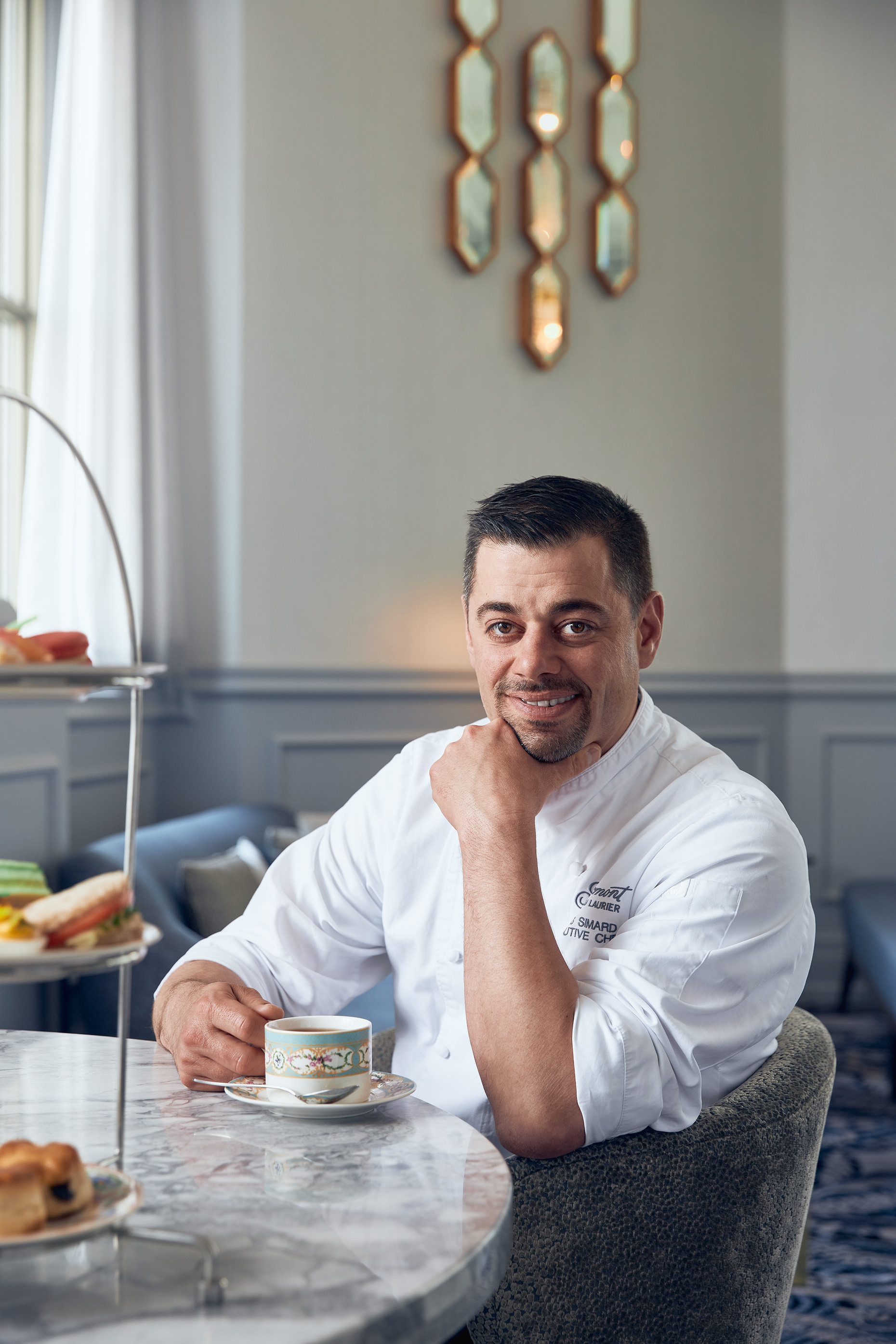 Editorial portrait and food photographer Matthew Liteplo took this Chef